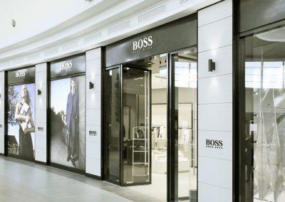 HUGO BOSS stores
