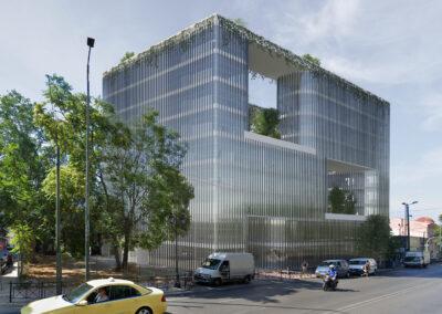 The Urban Outlook. Zero Energy Office Space